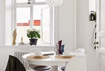 Modern and scandinavian interior