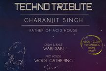 Techno Tributes - Charanjit Singh Feat Wabi Sabi & Woolgathering / A tribute show to the legend himself, Late Charanjit Singh - Father of #AcidHouse. The man who most likely invented that acid sound before anyone else in the world.  Line up -   We will start with #WOOLGATHERING - Progressive House and Big Beat Set (that The Chemical Brothers feel)  Wabi Sabi a deep flourishing act of this city will carry the vibes up with his Drum & Bass and Electronica.  The After Party will be concluded with some banging on the dance floor with 'Ten Ragas to a Disco Beat'.