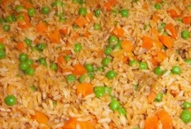 "Rice! We Love Rice! / The first of my Mom's recipes that I ever learned...Mexican red rice....my biggest accomplishment, thanks Mom!  / by Sonia ~ ""La Piña En La Cocina""~"