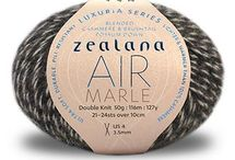 Zealana AIR MARLE / Zealana AIR MARLE unites three individual strands of AIR Lace, creating a truly luxurious, multi-toned, double-knit weight yarn. AIR MARLE is made with the luxurious brushtail possum down found in all of our yarns. When combined with 40% cashmere and 20% mulberry silk, you get something extraordinary—an ultra soft, durable, pill-resistant yarn that is lighter and warmer than 100% cashmere.