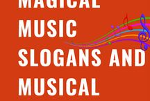 Music Slogans and Taglines