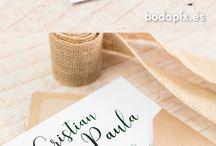 Bodas / Invitaciones de boda únicas! Aquí podrás encontrar un sinfín de estilos que harán de tu boda un evento más especial: invitaciones rústicas, elegantes, viajeras, originales... y mucho más!