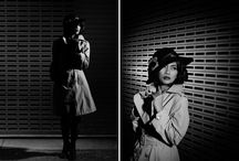 Noir Style / Some ideas for my next painting... vintage noir style