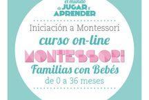 Montessori bebés / by Soraya PT AL