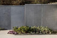 StyleCrete exposed concrete buttresses