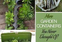 jardines en neumaticos