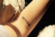 Tatuagens numeral romano