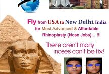 Fly from Other Country to New Delhi, India for most advance & affordable Rhinoplasty  Surgery / Fly from Other Country to New Delhi, India for most advance & affordable Rhinoplasty (Nose Job Surgery). Know more about this procedure at: www.bestrhinoplastyindia.com Contact Us ☎ (995) 822.1983  (995) 822.1982 (995) 822.1981 From India