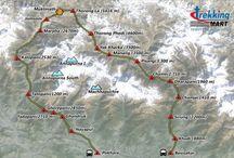 Trekking Mart Maps / Trekking Route Maps, Trip Maps