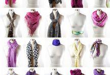 Pañuelos y bufandas..