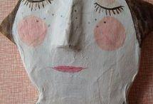 portrety głowy