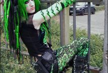 CyberGoth / Looks a lot fun. Like the colored ones too very much.