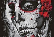Skulls women mexican