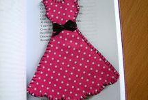 marcador vestido