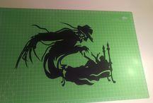 Creazioni paper cutting