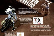 Motocross corners
