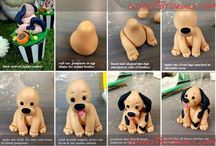 Honden van marsepein