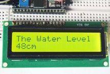Arduino water level indicator