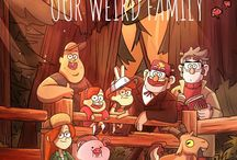 Gravity falls / Boss Art work and comics strips and memes