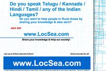 LocSea.com, Online Knowledge Sharing Platform / Share Your Knowledge & Earn! Help our Society! Join as an Online Instructor @ LocSea.com, Online Knowledge Sharing Platform.
