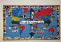 Church Bulletin Boards / by Jeanie Worrell Quesenberry