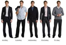 Men's Work Wear / Professional and business casual work attire.  Please remember that your environment and body type do make a difference in what is appropriate for you.  The UIC Office of Career Services does not endorse nor support any of the stores that may be linked here.  We simply liked the clothing example.