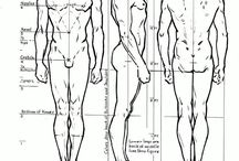 figure drawing aids / by Alicia Hawks Rodriguez