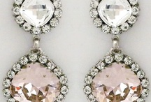 Jewels-studs and chandeliers
