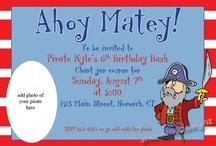 Pirate Theme / pirate theme related / by Karen Dayton