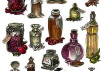 Flasks and Potions