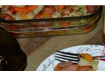 oven baked sausage roast