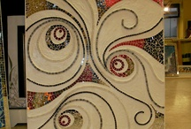 Mosaic swirls and rounds and balls
