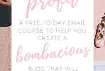 Blogger Tips / This boards feature articles on how to grow your blog.