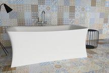 Contemporary Modern Bathrooms / Contemporary Modern, trendy and unique bathroom designs