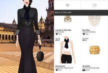 Covet Fashion / My dirty little addiction, playing dress up dolls :)