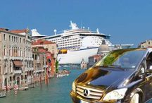 Shore Excursions From Venice Port by Tiber Limousine Service / Tiber Limousine Service, leading Italian limo company, provides shore excursion from the port of Venice to the top attractions of Veneto