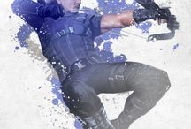 Marvel Civil War Red White and Blue Collection at Wallure / http://wallure.com/index.php/uk/posters/marvel-civil-war-red-white-and-blue-collection.html