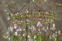 Hanging beads