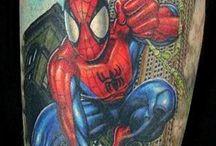 Brady Spiderman Tattoo options / by Natanis LaBoucane