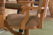 Game Table Chairs / Swivel game chairs