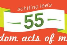 55 Random Acts of Merry / Holiday Board / by Schifino Lee