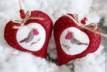 Ruční výrobky na vánoce