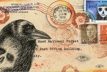 Mail Art + altered Envelopes