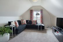 Charming Spaces / We know a quaint space to cozy is the perfect addition to any home. Check out our beautiful lofts and other charming spaces.