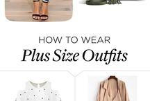 plus size fashion / big is beautiful