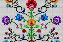 ETNIC-VINTAGE*CROSS STITCH -EMBROIDERY