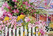 Peisaje cu flori