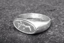 Lascaux Signet Ring - Cave art