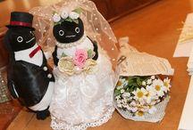 ペンギンのウェディングドール参考画像 / ペンギンをテーマにしたウェディング画像を集めました