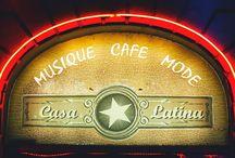 Les affiches CASA LATINA (Bordeaux) / Casa Latina est un bar Cubain ouvert sur toutes les musiques des latitudes latines. Chaque évènement est accompagné par un visuel !!!